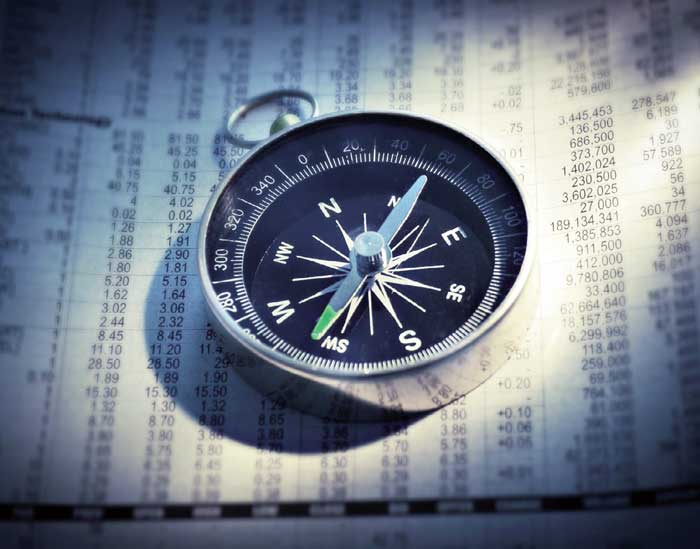 carefully navigate your financial compass
