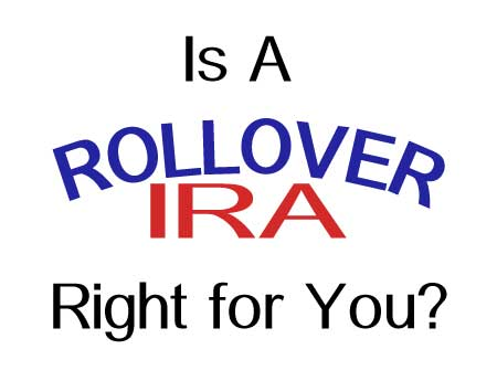 Frank McKinley, a licensed Financial Advisor, can assist you in deciding if a rollover IRA right for you.